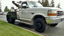 1993 FORD F450 WRECKER TOW TRUC
