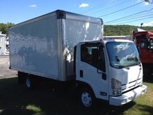 2011 ISUZU NPR HD BOX TRUCK - S