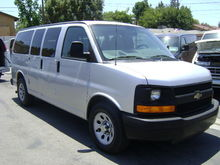 2012 CHEVROLET EXPRESS BUS