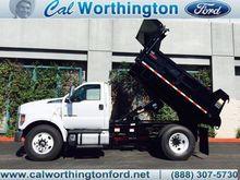 2017 Ford Super Duty F-650 Dump