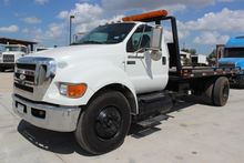 2009 FORD F650 XL SD ROLLBACK T