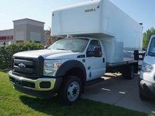 2016 FORD F450 BOX TRUCK - STRA