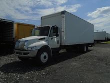 2012 IHC 4300 BOX TRUCK - STRAI