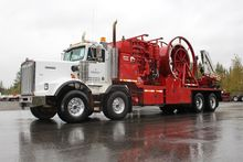 2005 KENWORTH T800 WINCH TRUCK