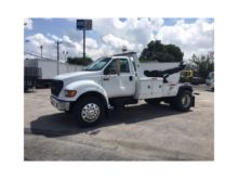 2000 FORD F650 WRECKER TOW TRUC