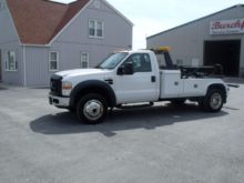 2008 FORD F450 WRECKER TOW TRUC