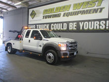 2011 FORD F550 WRECKER TOW TRUC