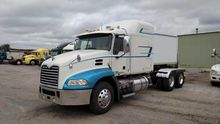 2008 MACK PINNACLE CXU613 CONVE