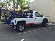 2007 FORD F450 Wrecker tow truc
