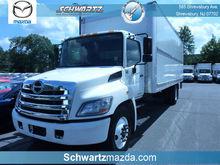 2012 HINO 338 BOX TRUCK - STRAI