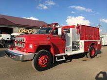 1991 FORD F800 PIERCE FIRE TRUC