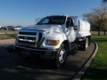 2015 FORD F750 WATER TRUCK