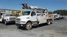 2004 STERLING BUCKET TRUCK - BO