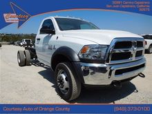 2016 RAM 4500 CHASSIS CAB CHASS