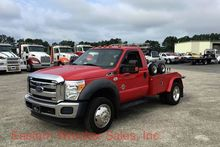 2012 FORD F450 WRECKER TOW TRUC