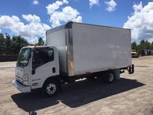2010 ISUZU NPR HD BOX TRUCK - S