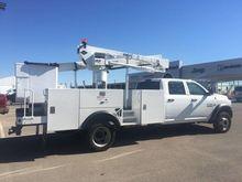 2016 RAM 5500 Bucket truck - bo