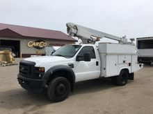 2009 FORD F550 SUPER DUTY BUCKE