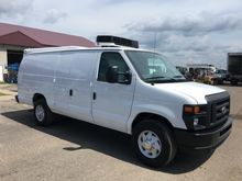 2013 FORD E350 REFRIGERATED VAN