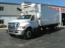 2010 FORD F750 REFRIGERATED TRU