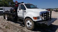 2013 FORD F-650 WINCH TRUCK