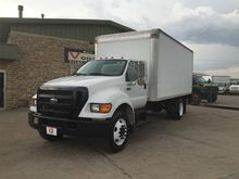 2005 FORD F750 XL SD BOX TRUCK