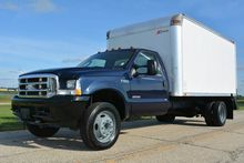 2004 FORD F550 14FT BOX TRUCK B