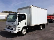 2008 ISUZU NPR HD BOX TRUCK - S