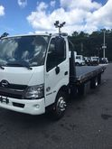 2016 HINO 195 ROLLBACK TOW TRUC