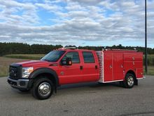 2013 FORD F-550 SUPER DUTY FIRE