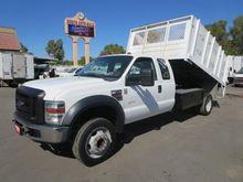 2008 FORD F450 DSL Dump truck
