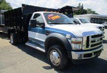 2008 FORD F450 Dump truck