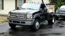 2007 FORD F550 Wrecker tow truc