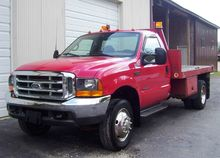 1999 FORD F550XL FLATBED DUMP