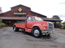 1997 FORD F750 WRECKER TOW TRUC