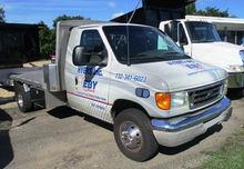 2003 FORD E450 FLATBED DUMP