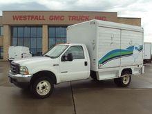 2002 FORD F550 BOX TRUCK - STRA