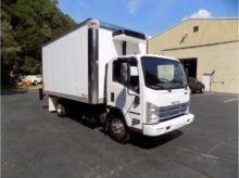 2013 ISUZU NQR Box truck - stra
