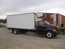 2004 FORD F750 REFRIGERATED TRU