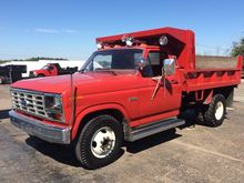 1985 FORD F-350 CAB CHASSIS