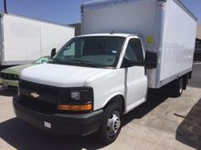 2014 CHEVROLET EXPRESS 3500 BOX