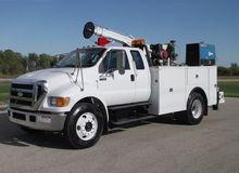 2007 Ford F650 29' Crane Truck,