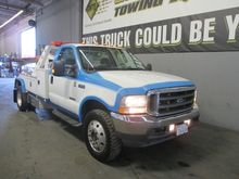 2004 FORD F550 WRECKER TOW TRUC