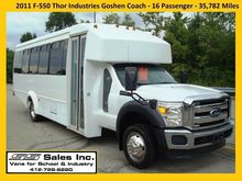2011 FORD F550 BUS