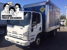 2012 ISUZU TRUCKS NQR BOX TRUCK