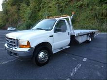 2001 FORD F550 CAR CARRIER