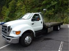 2010 FORD F650 CAR CARRIER