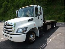 2012 HINO 258LP CAR CARRIER