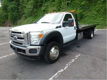 2011 FORD F550 CAR CARRIER