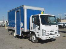2011 Isuzu NQR Box truck - stra